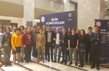Öğrencimiz Tübitak Ulusal Bilim Olimpiyatlarında Gümüş Madalya Kazandı