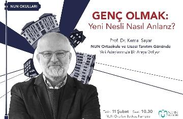 Prof. Dr. Kemal Sayar Veli Adaylarımızla Bir Araya Geliyor