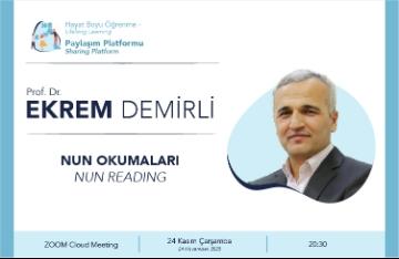 Mantık'ut Tayr'ı Prof. Dr. Ekrem Demirli'den Dinledik