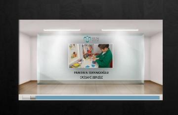 6. Sınıf Öğrencimiz Mustafa Kişisel Origami Sergisini Açtı