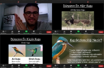 Kuş Gözlem Topluluğumuzun İlk Toplantısını Gerçekleştirdik