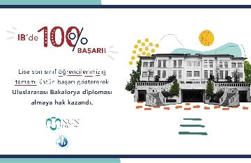 Öğrencilerimizden %100 Uluslararası Bakalorya Başarısı!
