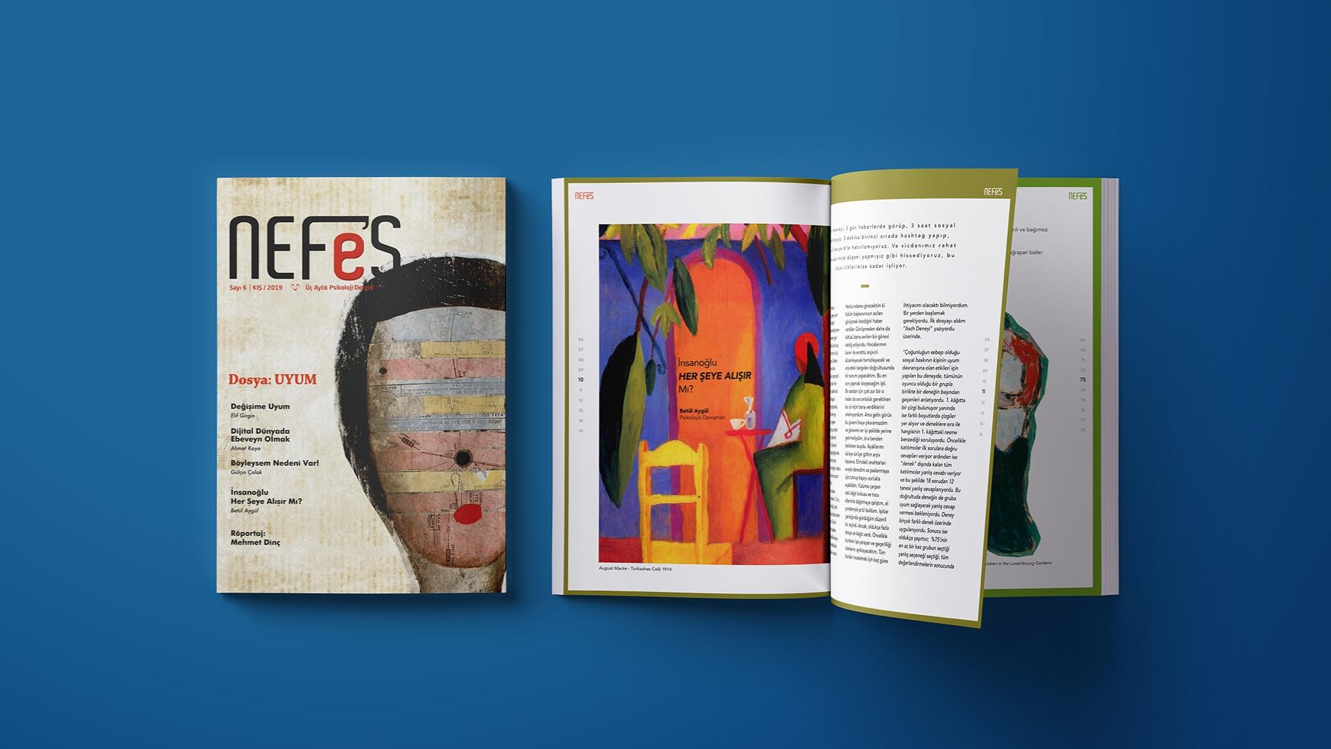 NEFES Dergisi Yeni Sayısıyla Okuyucularla Buluştu
