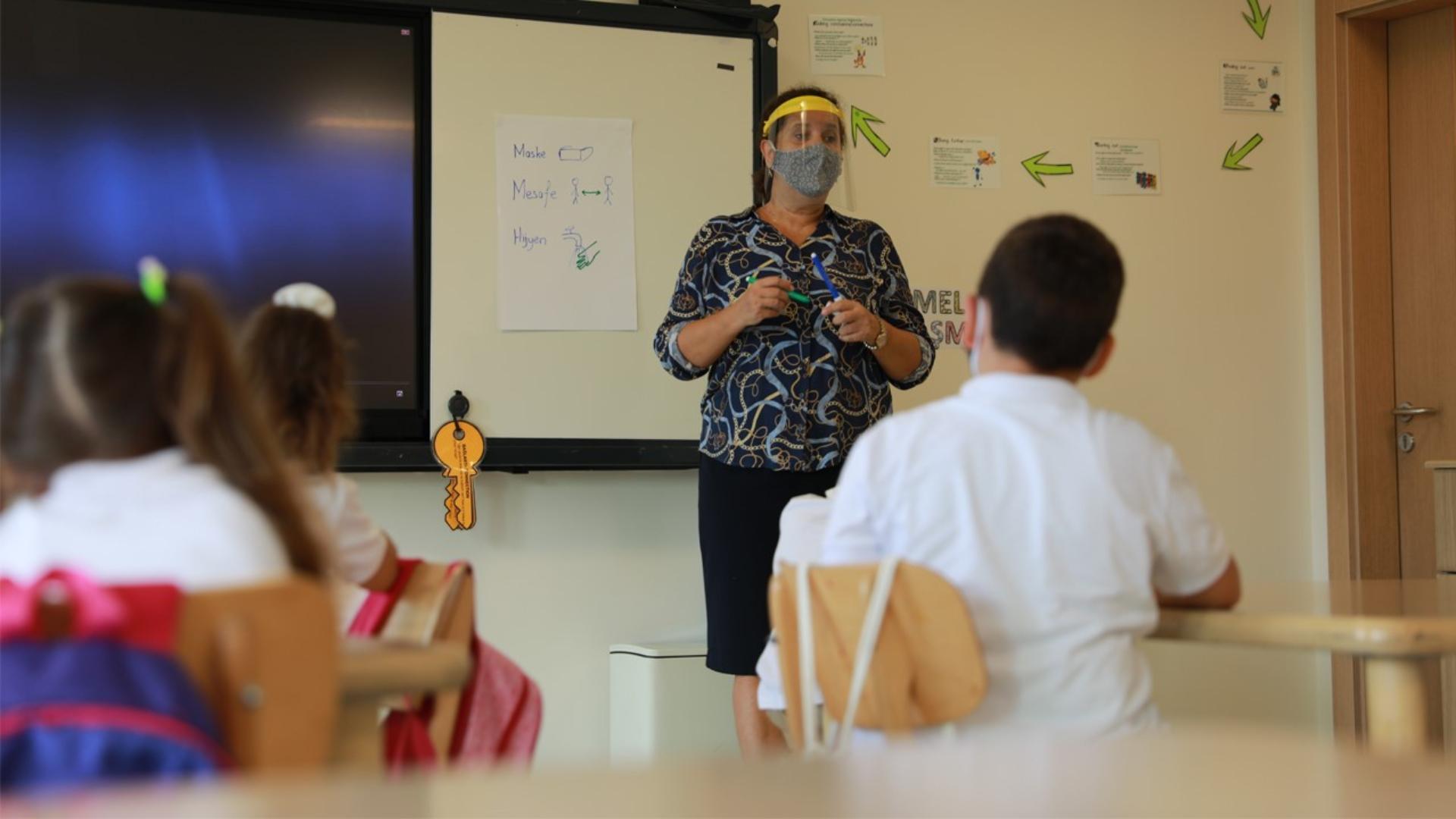 Ana Sınıfı ve 1. Sınıf Öğrencilerimiz Yüz Yüze Eğitime Başladı
