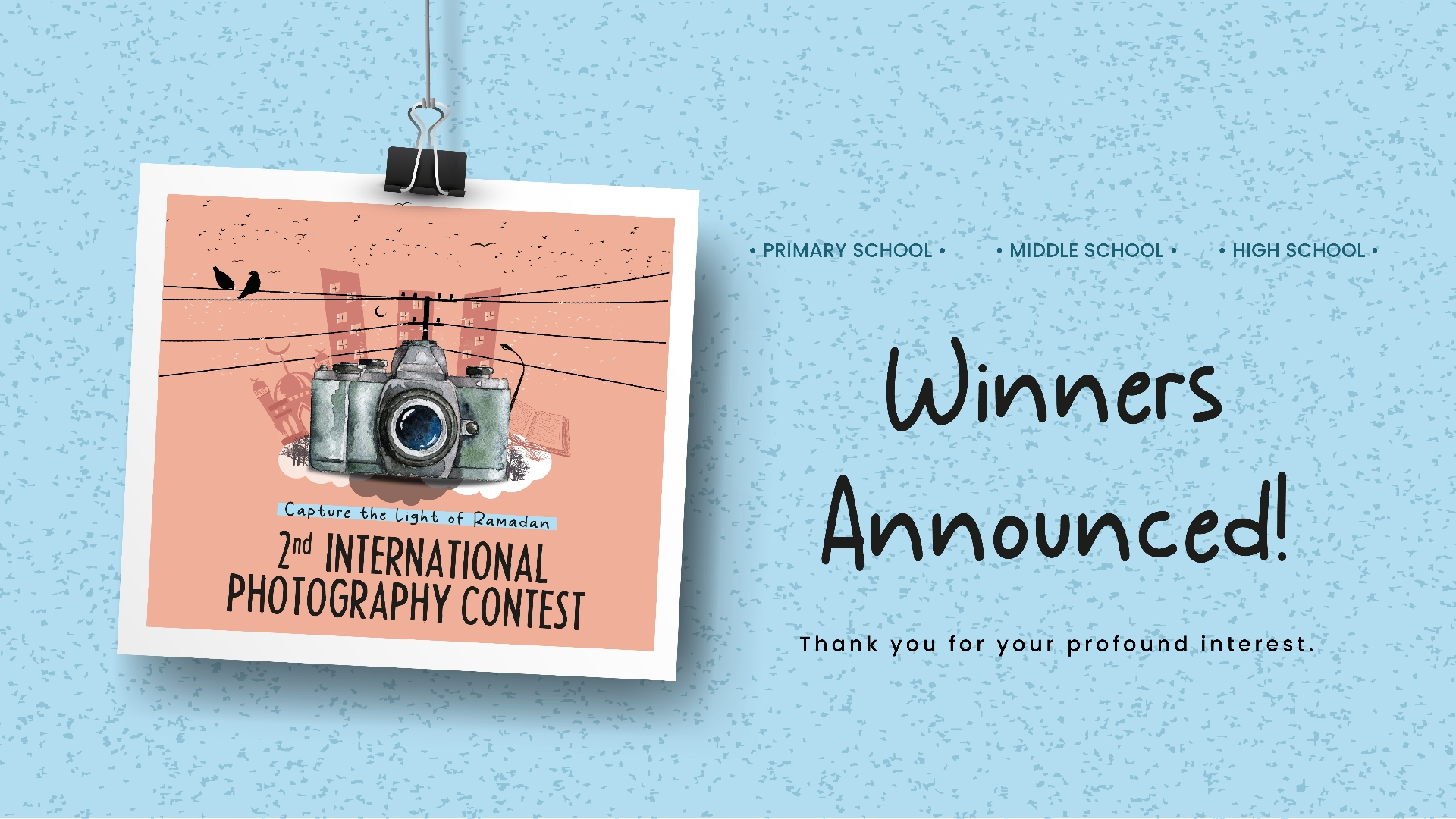 The Winners Of The 2nd International Capture The Light Of Ramadan Photography Contest Announced!